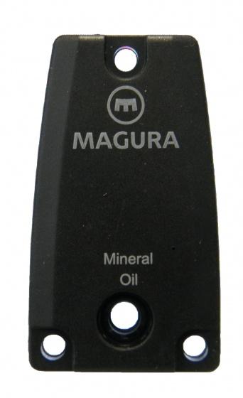 Magura afsluitkapje oliereservoir 4 x 2,5 cm zwart
