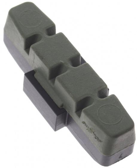 Magura remblokrubber HS33 hydraulisch 50 x 17 mm groen per stuk
