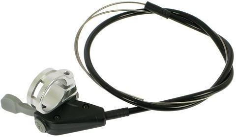 Magura remote lock out met kabel zwart/zilver
