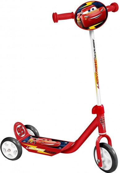 Disney Cars 3 wiel kinderstep Jongens Rood