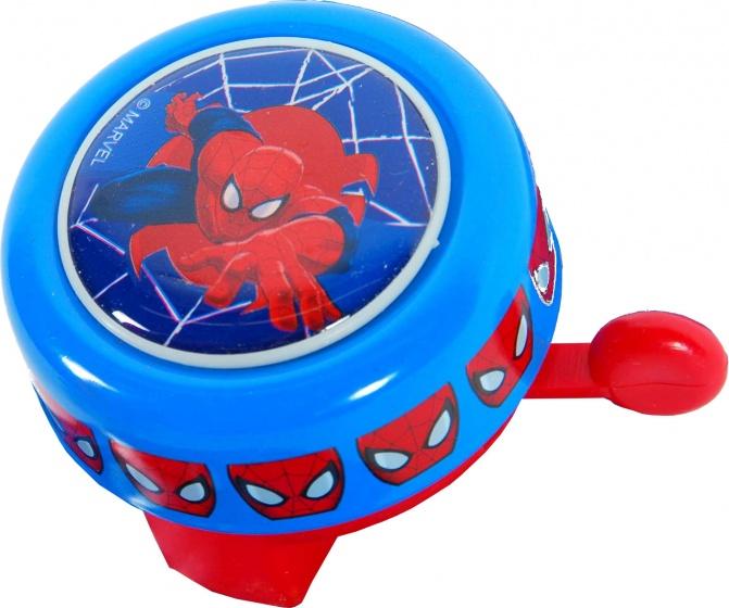Marvel fietsbel Spider Man blauw/rood 54 mm