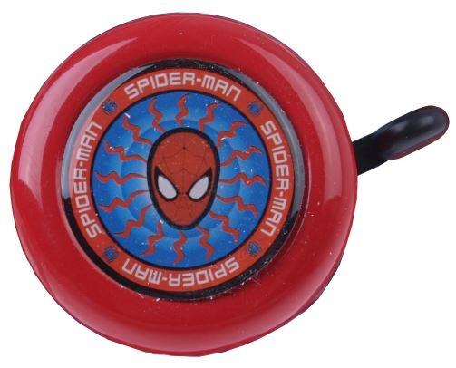 Marvel Fietsbel Spiderman 55 mm Staal rood