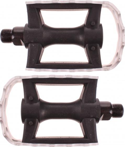 Marwi platformpedalen Union SP 940A 9/16 inch zwart/zilver