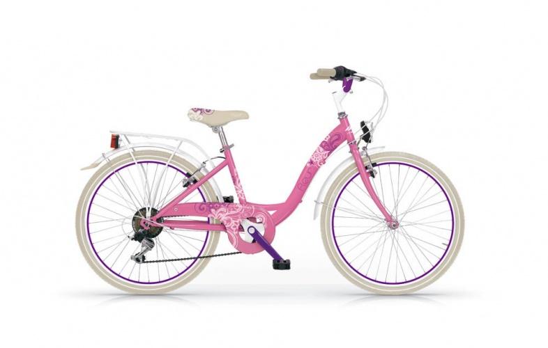 Mbm - Fleur 20 Inch 30 Cm Meisjes 6v V-brake Roze