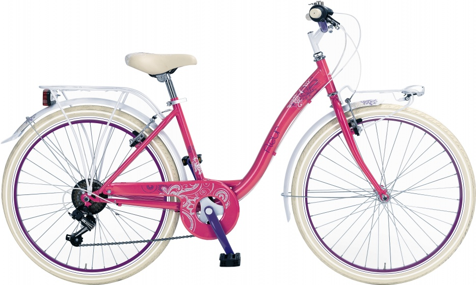 Mbm - Fleur 24 Inch 34 Cm Meisjes V-brake Roze