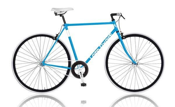 MBM I AM Fixed 28 Inch 53 cm Heren V Brake Blauw