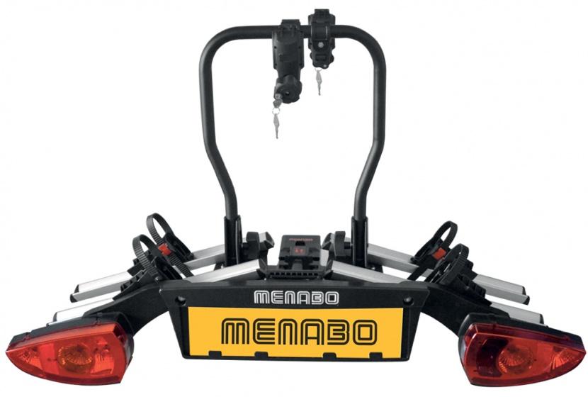 Menabo fietsendrager Altair 2 fietsen zwart/zilver