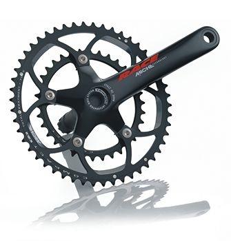 Miche Crankstel Race 39 52T zwart