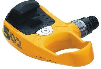 Miche Klikpedaal 502 SPD SL 9/16 Inch set geel