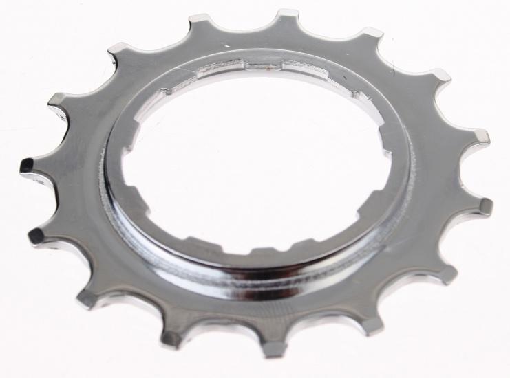 Miche Tandwiel met borst 8/9 Speed Shimano 18T zilver