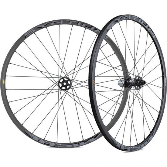 Miche Wielset DX Syntium 28 inch schijfrem aluminium 28G zwart
