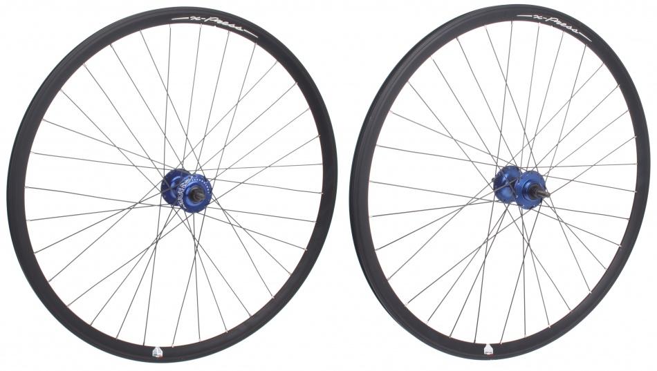 Miche Wielset X Press 28 inch zwart / blauw