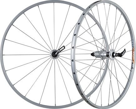 Miche Wielset Young Shimano tubeless schijfrem 22 inch 20/24S zilver