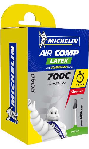 Michelin binnenband Aircomp A1 22/23 622 Presta 60 mm