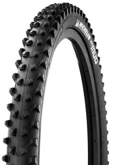 Michelin buitenband MTB Wildmud Advanced 27.5 x 2 inch zwart