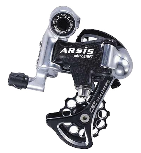 Microshift Derailleur Achter Arsis Carbon Road Racing 20 30 Speed