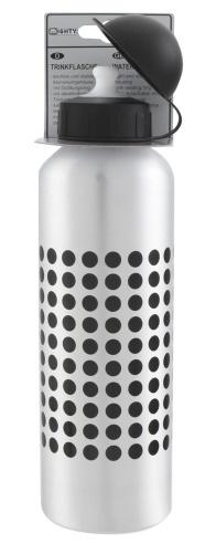 Mighty Aluminium Drinkfles ABO 750 Zilver Met Opdruk