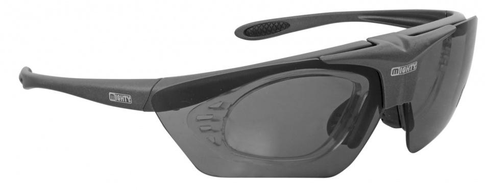 Korting Mighty Sport En Fietsbril Met Verwisselbare Glazen Antraciet