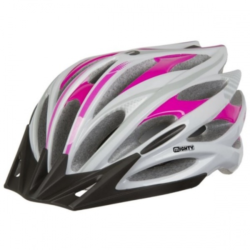 Mighty Fietshelm Pace Roze Maat M/L