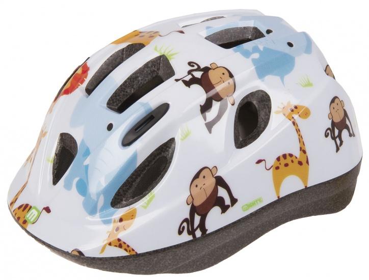 Mighty Helm Junior Zoo Wit Maat 52/56 cm
