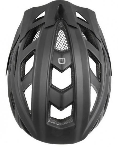 Mighty helm unisex zwart maat 58 63 cm