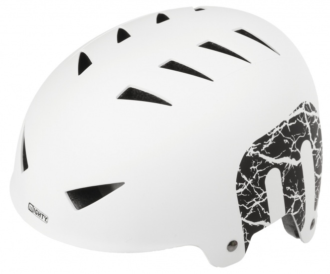 Mighty Helm X Style unisex wit maat L (60 63 cm)