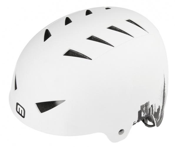 Mighty Helm X Style Skyline Wit Maat 58/63 cm