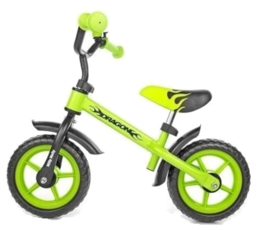 Milly Mally loopfiets Dragon Junior Groen