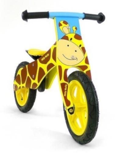 Milly Mally loopfiets Duplo Giraffe 12 Inch Junior Geel/Bruin