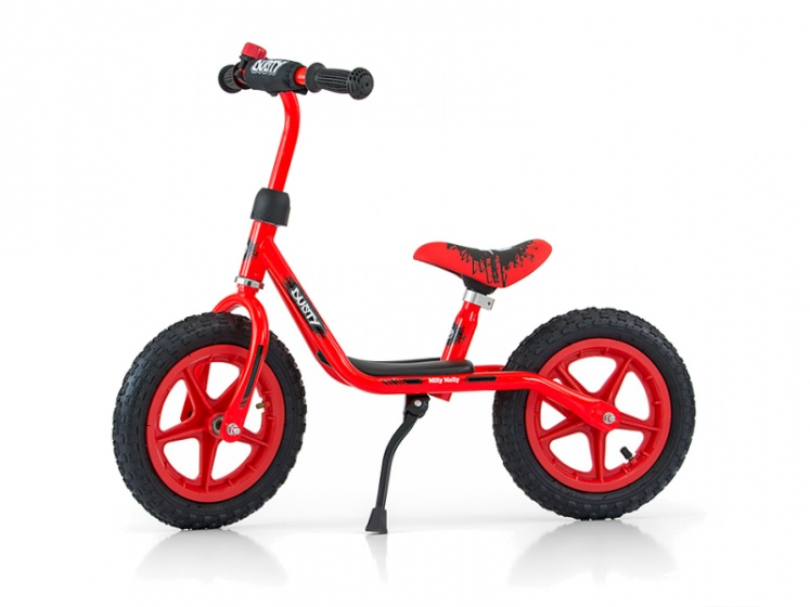Milly Mally loopfiets Dusty 10 Inch Junior Rood