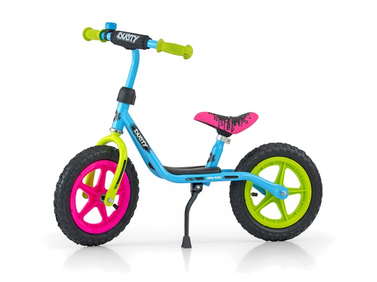 Milly Mally loopfiets Dusty 12 Inch Junior Multicolor