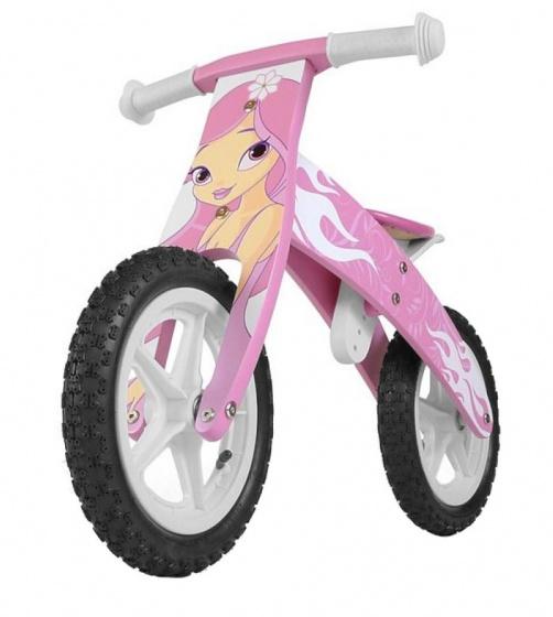 Milly Mally loopfiets Flip Pink 12 Inch Junior Roze