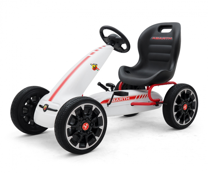 Milly Mally - Abarth Junior Wit