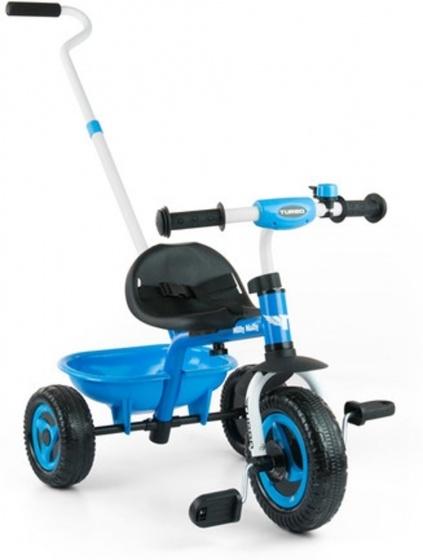 Milly Mally Turbo driewieler Junior Blauw/Zwart