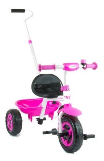 Milly Mally Turbo driewieler Junior Vrijloop Roze/Wit
