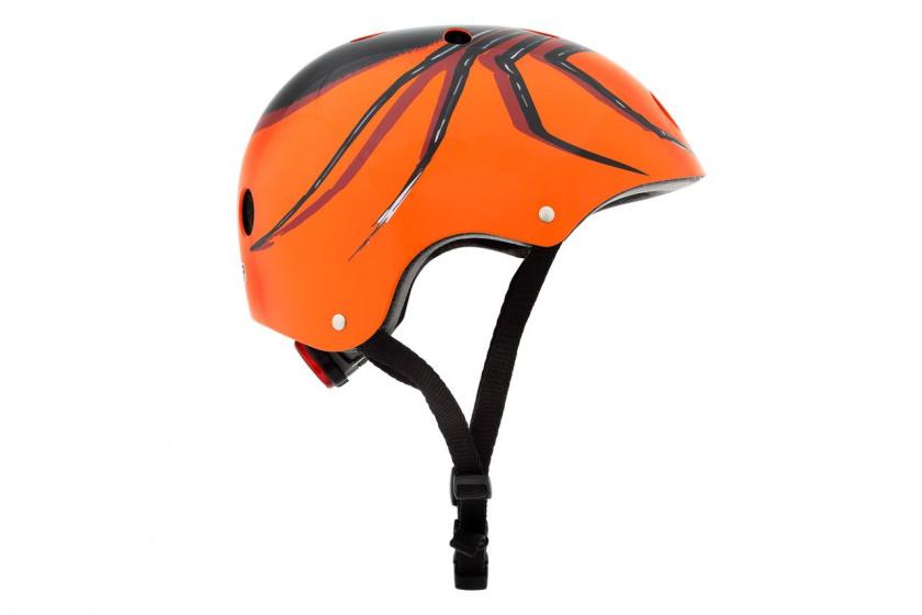 Mini Hornit Lids Fietshelm Chiller Spider junior oranje maat M