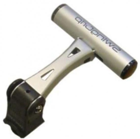 Minoura bevestigingsbeugel SwingGrip 22 35 mm aluminium zilver