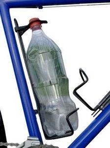 Minoura flessenhouder Pet Cage voor 500 ml pet flessen zilver