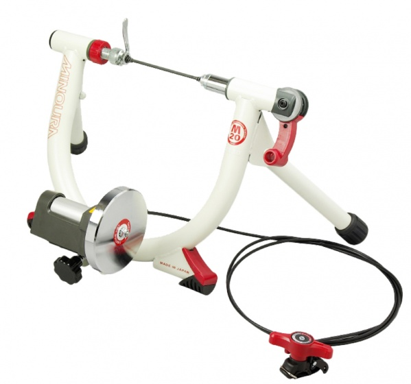 Minoura LiveRide trainer LR240 mini Wit