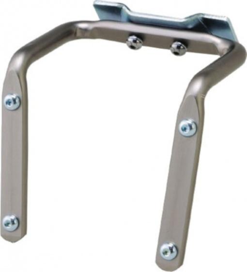 Minoura zadelbevestiging voor twee bidonhouders 65 mm zilver