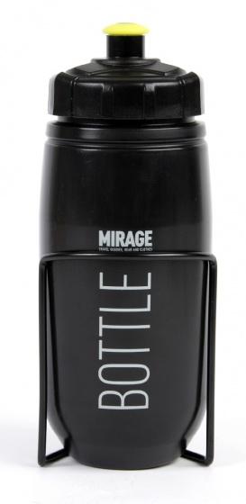 Mirage Bidon Met Houder Zwart