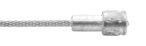 Mirage remkabel bundel peer 3 meter RVS zilver 100 stuks