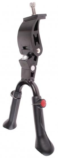 Mirage Standaard dubbel verstelbaar 24 28 inch 29mm zwart