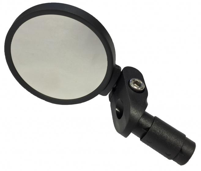 Mirage stuurspiegel verstelbaar zwart 7 cm