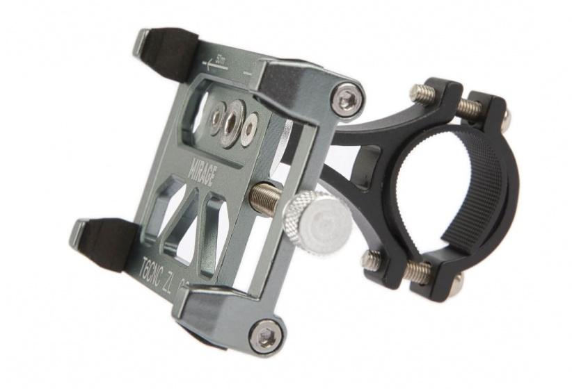 Mirage telefoonhouder Bracket antraciet 7 cm