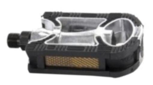 Mirage tour platformpedalen antislip zwart/zilver 9/16 inch Onderdelen & Accessoires Zwart,Zilver Platformpedalen Voor 16:00 uur besteld, dezelfde dag verzonden