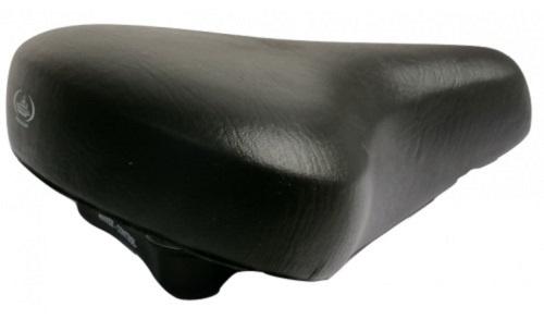 Monte Grappa zadel Basic 500el 28 x 19 cm zwart