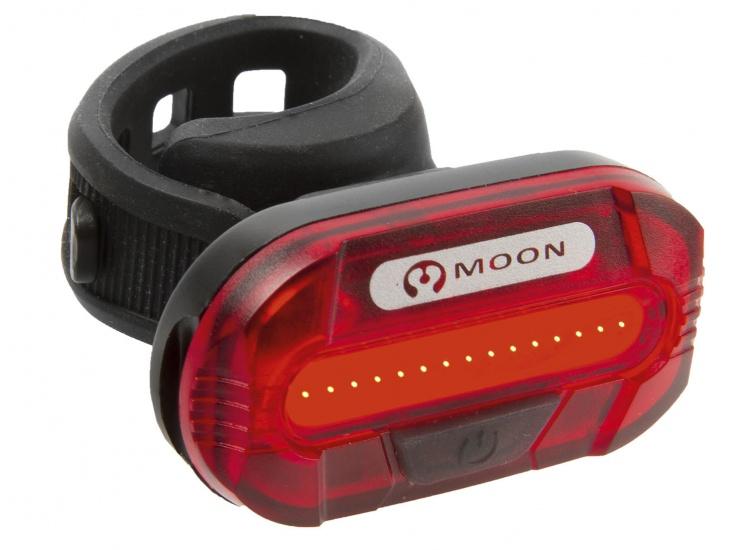Moon Achterlicht LED Lunar Zwart