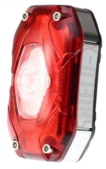 Moon Shield X achterlicht LED oplaadbaar 6 x 3 cm