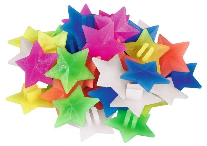 Moses spaakkralen sterren 2 cm 36 stuks